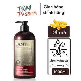 Dầu xả tóc dưỡng tóc P&M Passion PHÁP NHẬP KHẨU CHÍNH HÃNG chăm sóc tóc bóng mượt (1000ml chai) thumbnail