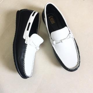 Giày nam da thật – Giày lười da bò