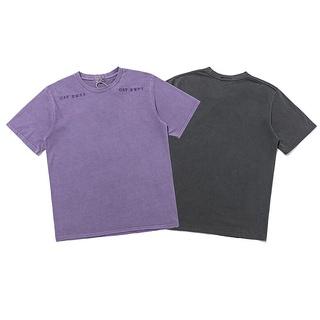 CAV EMPT Fashion printed cotton unisex T-shirt short sleeve