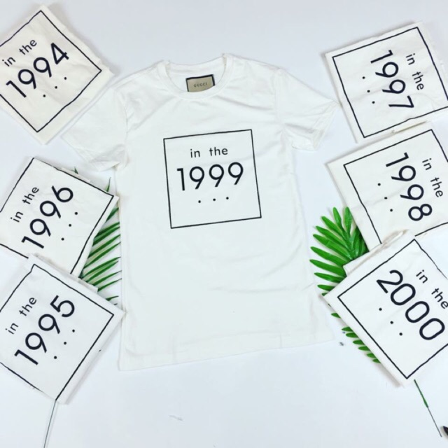 Áo phông năm sinh in số