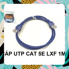 [SALE CỰC HOT] SẢN PHẨM CÁP UTP CAT 5E LXF 1M Giá chỉ 14.062₫