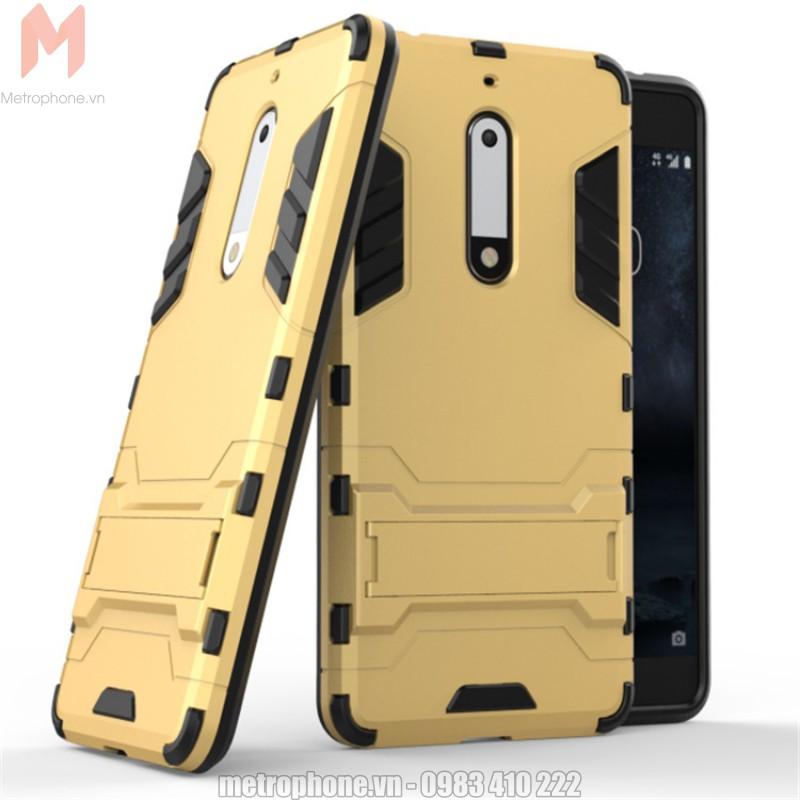 [805] Ốp lưng chống sốc Nokia 5 Iron Man