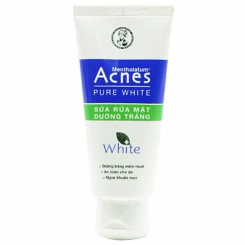 Sữa rửa mặt Acnes Dưỡng trắng 100g