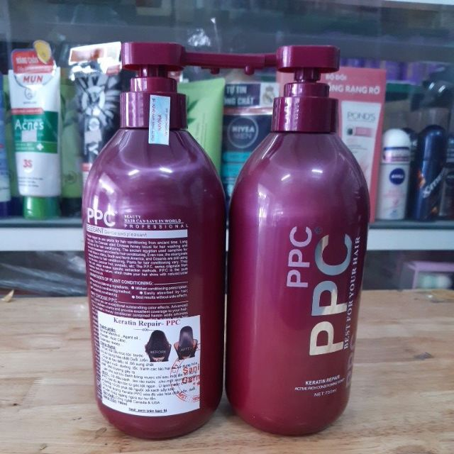 dầu gội, dầu xã (hấp) phục hồi tóc PPC