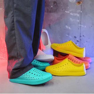 Giày nhựa nam đi mưa, đi biển chất liệu nhựa xốp siêu nhẹ, nhiều màu GU2 thumbnail