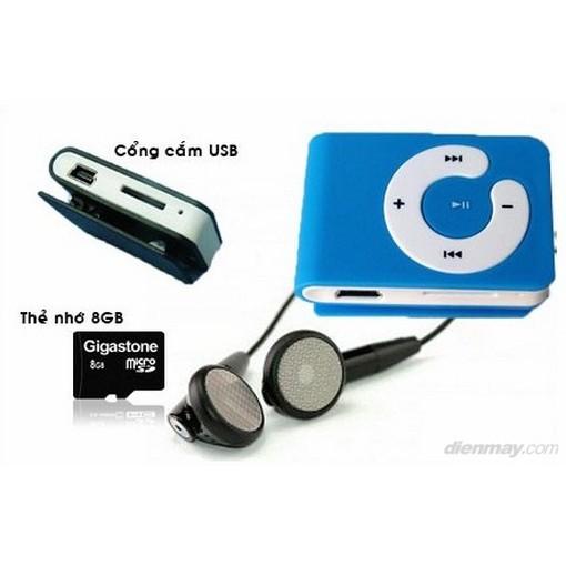 Máy nghe nhạc MP3 sành điệu tặng kèm tai nghe