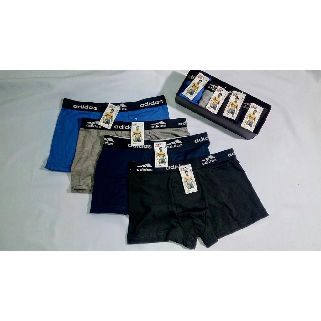 Combo 4 quần lót đùi THUTU - Nhiều lưng