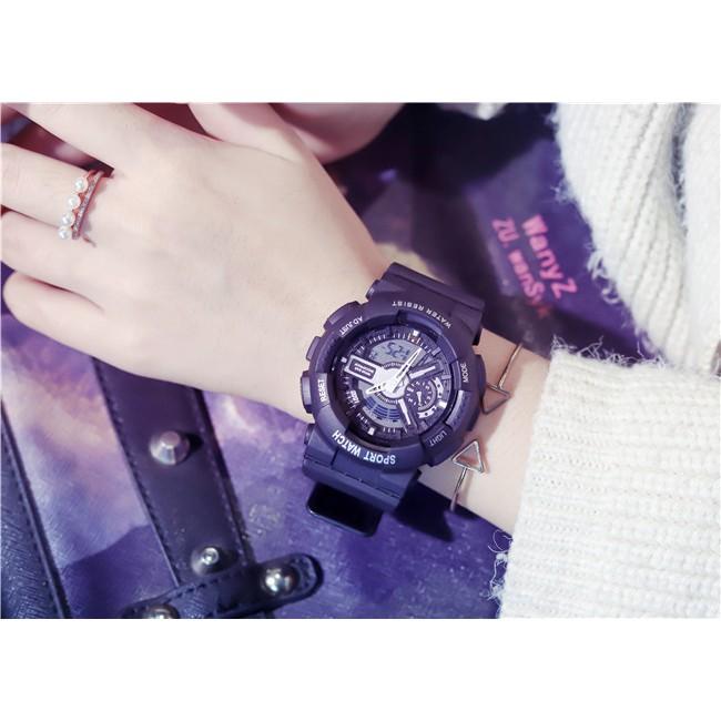 [HÀNG CHÍNH HÃNG] Đồng hồ thể thao Unisex Shhors size 36mm ( luôn viền 44mm)