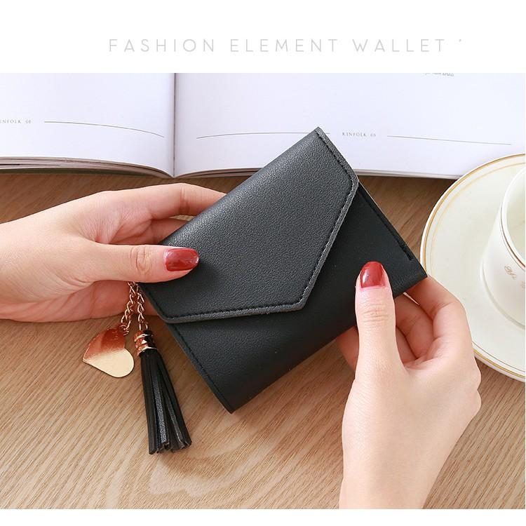 Ví bóp cầm tay da nữ mini VM01