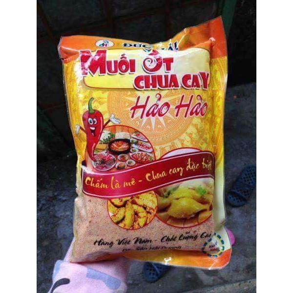 Muối ớt bột canh chua cay Hảo Hảo hàng Việt nam