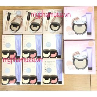 Becca Glow Essentials Kit - Tách Set- Son Bóng_ Bắt Sáng Dạng Kem & Phấn_ Kem Lót thumbnail