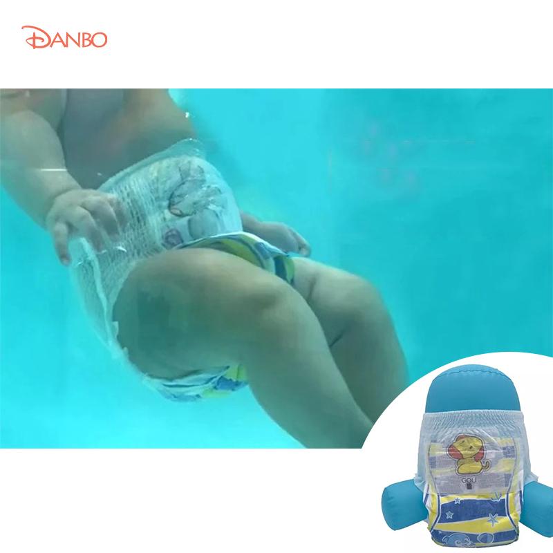 Quần bơi dùng một lần thiết kế chống thấm nước dùng cho trẻ em