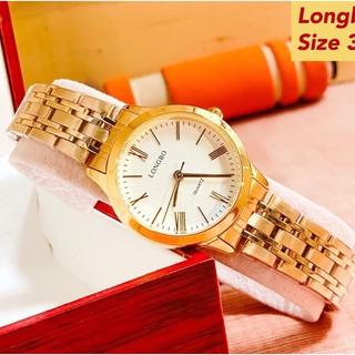 Đồng hồ thời trang nam nữ LONGBO chính hãng, dây thép không rỉ, chống nước tốt, tặng kèm tỳ hưu, tháo mắc ( Mã: ALB01 )