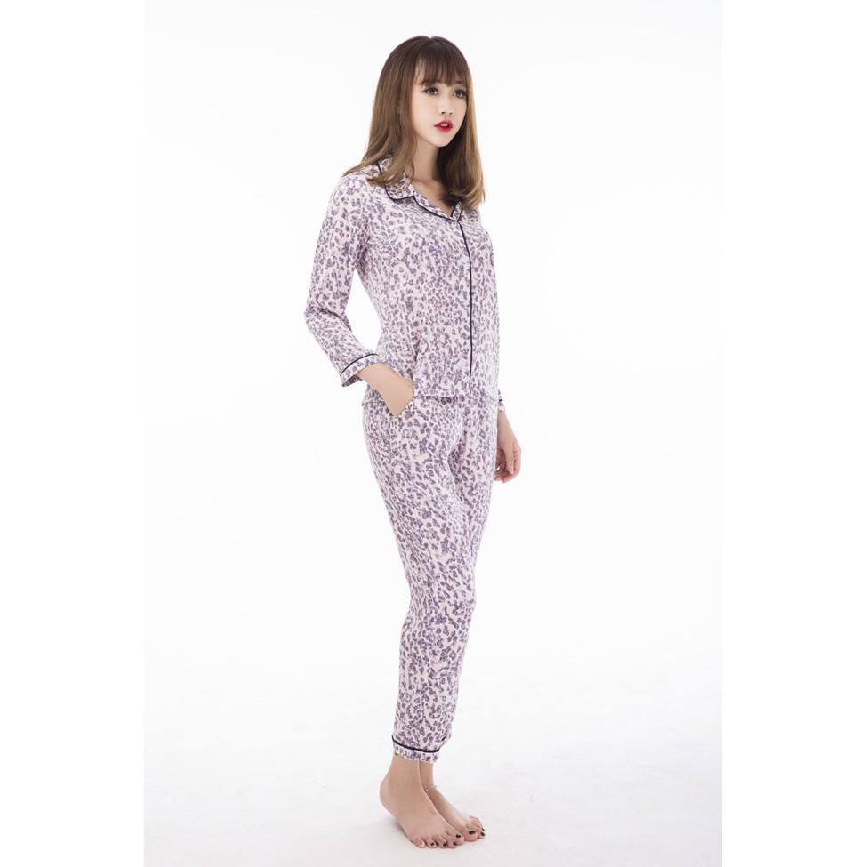 BK92- Bộ Pijama lụa cotton
