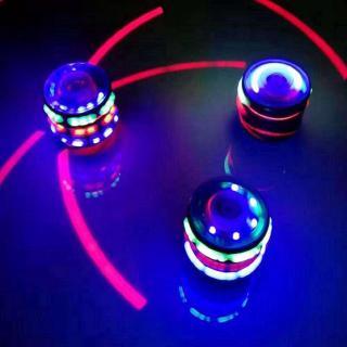 Music Luminous Colorful Gyro Spinning Light Z2L2