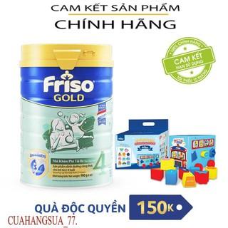 [CÓ QUÀ] Sữa Bột Friso Gold 4 900g Date 2022