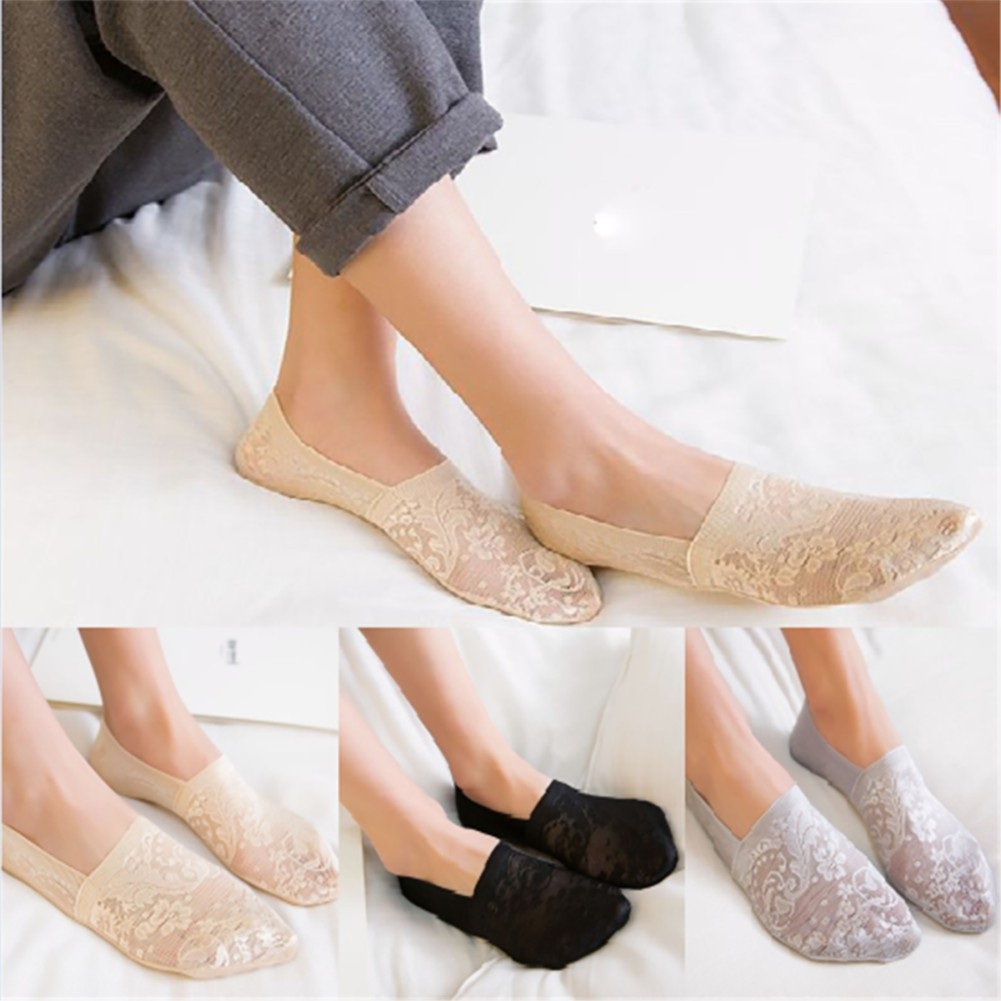 luoyangmudan Women  Short Breathable  Elastic Low Cut Ankle Boat Socks