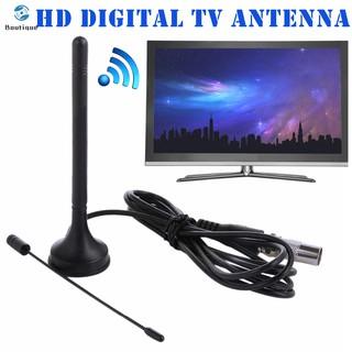 ✿♥▷ Universal Indoor HD Digital Dual DTA-180 TV Aerial Mini Antenna Portable Magnetic Base