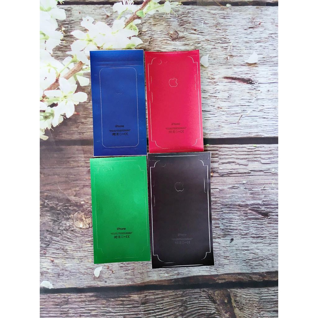 Miếng dán skin iphone 5/6/6s/6 Plus/7/7s/7 Plus
