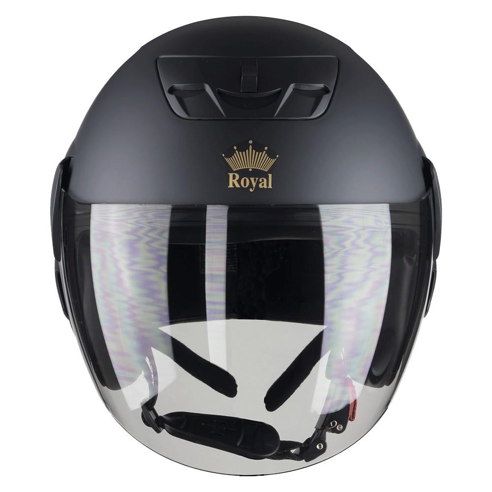 Mũ Bảo Hiểm 3/4 Royal M01 Có Kính đen nhám - Bảo Hành Chính Hãng 12 Tháng