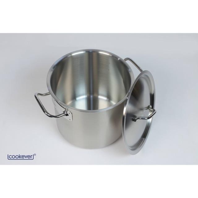 Nồi luộc gà Inox 304 Cookever Hàn Quốc Đáy từ 28Cm