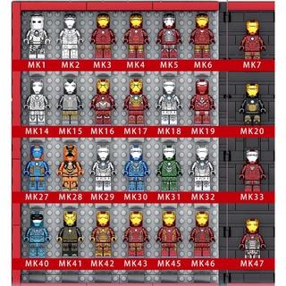 Lego iron man mô hình lắp ghép tonystark người sắt ironman mk50 mk85 War Machine