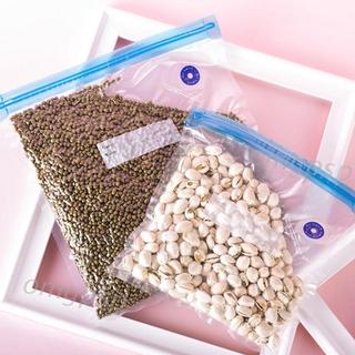 Reusable Vacuum Storage Bags Hand Pump Compression Space Saver Seal Organizer