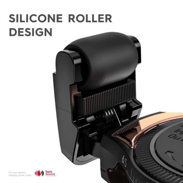 Giá đỡ kiêm sạc không dây trên ô tô - chuẩn hãng HOCO