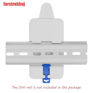 (FRJ-COD)SONOFF DR DIN Rail Tray Adjustable Mounted Rail Case Holder For Remote Control
