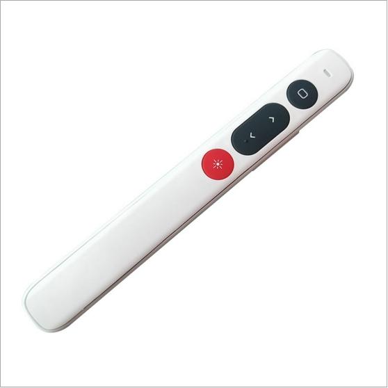 ตัวชี้อิเล็กทรอนิกส์ปากกาควบคุมระยะไกลการเรียนการสอนพลิกปากกา ppt คำพูดพลิกปากกาเลเซอร์คำพูดที่นำเสนอปากกา