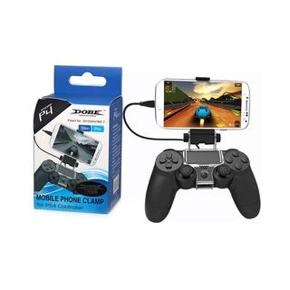 Đối với giá đỡ bộ điều khiển trò chơi PlayStation PS4 Giá đỡ kẹp điện thoại thông minh thumbnail