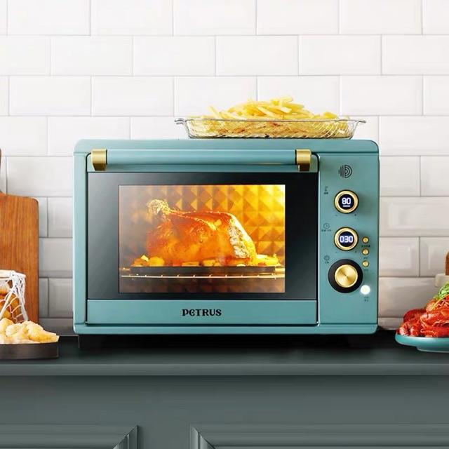 Lò 38L nướng bánh , nướng gà , sấy hoa quả , hâm thức ăn PETRUS ( PE3040)