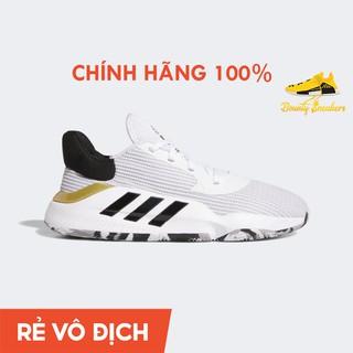 Giày Sneaker Bóng Rổ Nam Adidas Pro Bounce 2019 Low EF0472 White Gold - Hàng Chính Hãng - Bounty Sneakers thumbnail