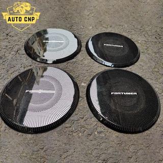 Ốp màng loa cho xe TOYOTA FORTUNER chất liệu thép mạ TITAN, bảo vệ khu vực loa sạch sẽ không bụi bặm AUTO CNP thumbnail