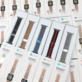 [Mã ELFLASH5 giảm 20K đơn 50K] [Đã có màu xanh rêu] Dây thép milan Apple Watch size 38- 40-42-44mm chính hãng COTEet.CI