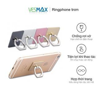Nhẫn dán lưng điện thoại thông minh Iring, giá đỡ lưng điện thoại Ring Phone xoay tròn 360 độ