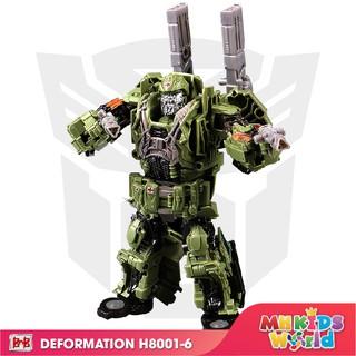 Đồ chơi mô hình BMB H6001-6 Hero Hound lắp ráp chuyển đổi mô hình Transformer thumbnail
