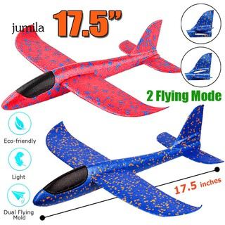 JUL Outdoor Funny Hand Throwing Glider Flying Airplane Aircraft Children Kids Toy
