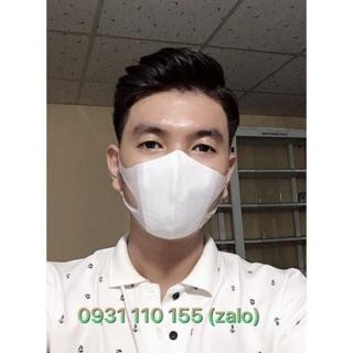 [Mã FAKHOE15 giảm 15K đơn 99K] (1 bịch 10 cái) khẩu trang Nhật 5D mask, khẩu trang 3D mask