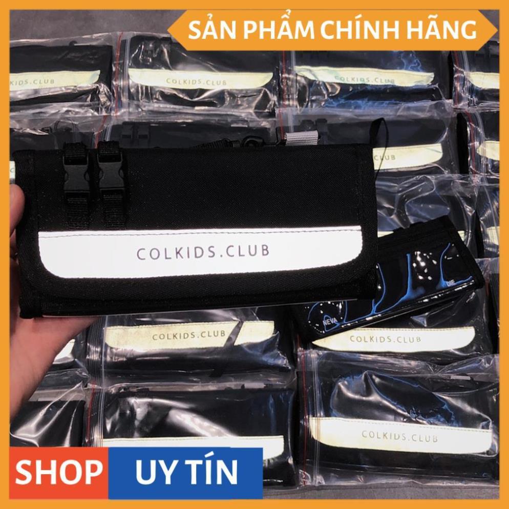 (Tặng full tag cnd + giấy thơm ) Ví dài colkids club cnd ss3 phản quang unisex