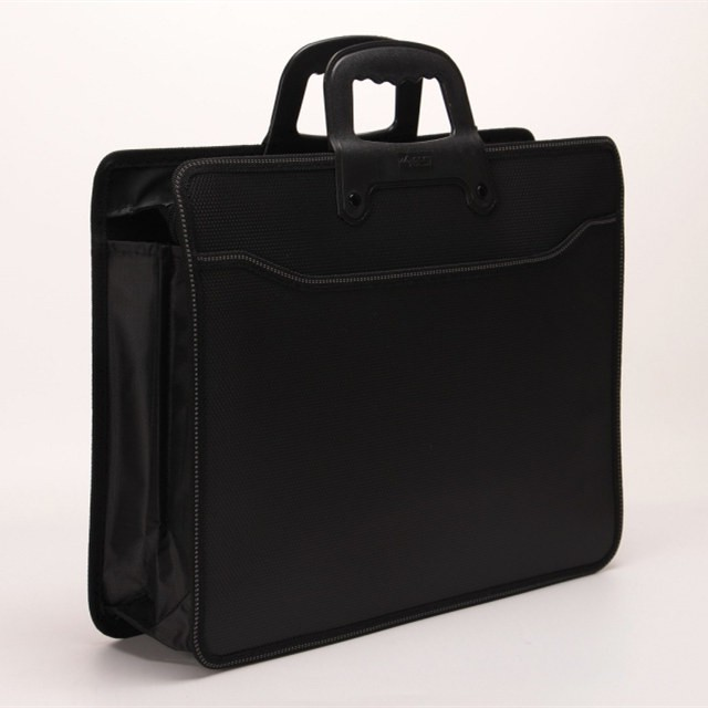A4 เอกสารแบบพกพาแพคเกจการประชุมทางธุรกิจถุงกระดาษข้อมูลถุง麻面点纹แพคเกจกิจการกระเป๋