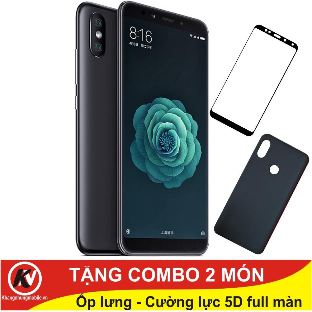 Combo Điện thoại Xiaomi Mi 6X 64GB Ram 4GB - Hàng nhập khẩu + Ốp lưng + Cường lực 5D full màn - 3107516 , 1107995339 , 322_1107995339 , 8000000 , Combo-Dien-thoai-Xiaomi-Mi-6X-64GB-Ram-4GB-Hang-nhap-khau-Op-lung-Cuong-luc-5D-full-man-322_1107995339 , shopee.vn , Combo Điện thoại Xiaomi Mi 6X 64GB Ram 4GB - Hàng nhập khẩu + Ốp lưng + Cường lực 5