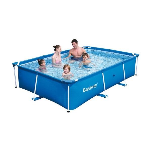 Bể Bơi Bestway 56404 khung chống kim loại 3m x 2.01m x 66cm