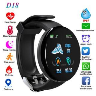 Đồng hồ đeo tay D18 thông minh chống thấm nước
