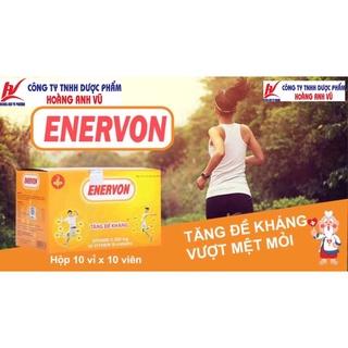 ENERVON C - TĂNG ĐỀ KHÁNG - VITAMIN C VÀ VITAMIN B-COMPLEX HỘP 100 VIÊN thumbnail