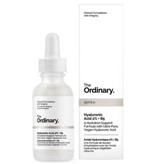 [SEPHORA-US] The Ordinary Hyaluronic Acid 2% + B5 30 ml Tinh chất cấp nước và phục hồi da