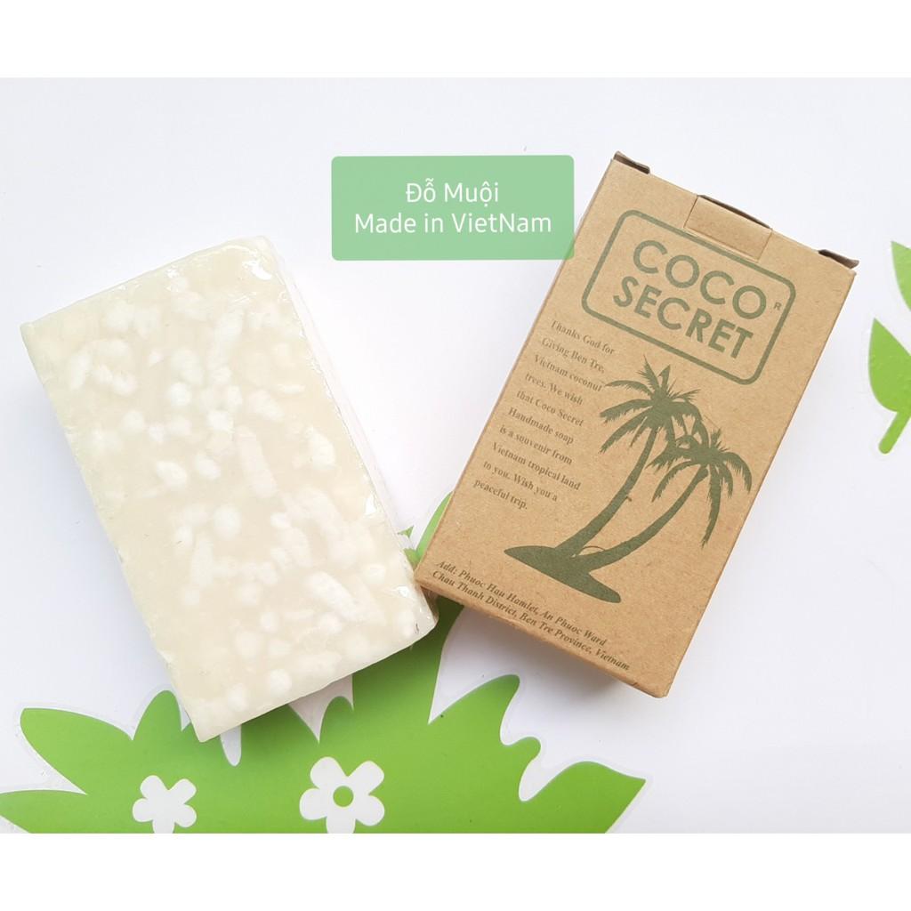Xà phòng dầu dừa sả Coco Secret 100g