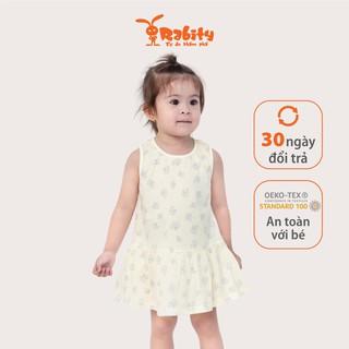 Đầm sơ sinh trẻ em Rabity 0013.10002.11001