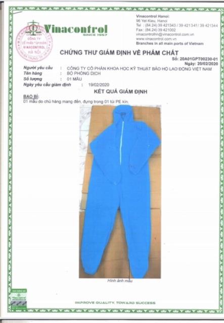 [Hàng chuẩn] BỘ ĐỒ QUẦN ÁO PHÒNG DỊCH, BẢO HỘ LAO ĐỘNG SET 7 MÓN - áo quần bảo hộ phòng dịch đi sân bay