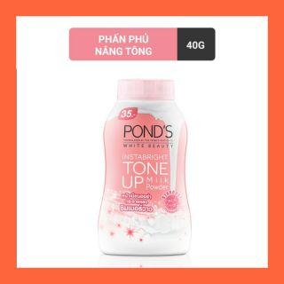 Phấn phủ mịn Pond's nâng tông trắng hồng tone up 40g